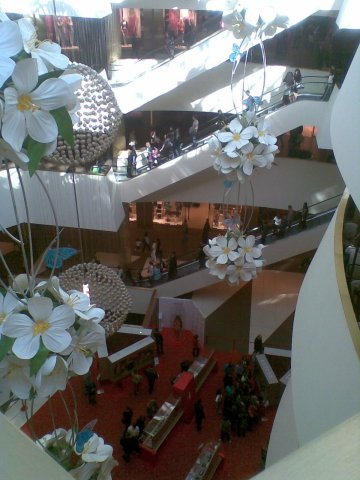 Atrium, Galeria Shopping Centre, St. Petersburg, 2011