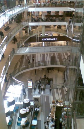 Stockmann Atrium, St. Petersburg, 2011